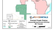ePower Metals Purchases Connel Creek Cobalt Project, Lillooet Mining District BC
