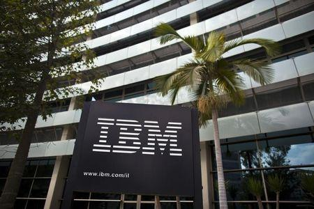 News post image: IBM Stock Falls 4%