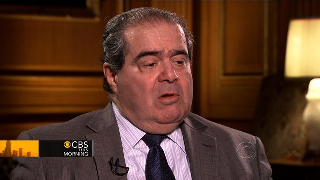 Scalia on healthcare ruling: