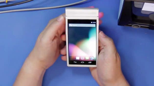 Project Ara team shows a working modular phone