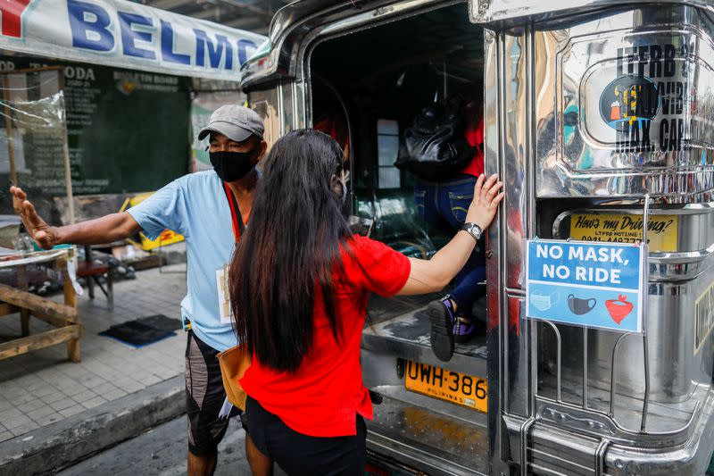 Iconic jeepneys back on the road in Philippine capital