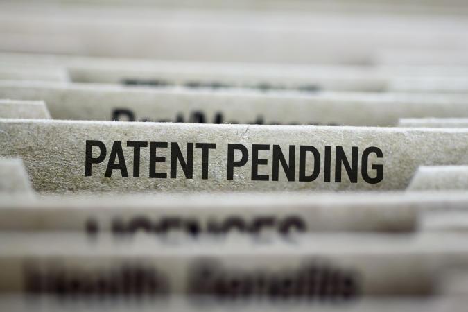 Patent pending files folder