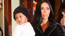 Kim Kardashian Shares Photo of Saint and Chicago