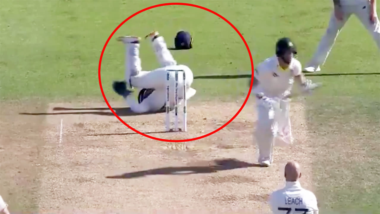 England cop five-run penalty after rare rules breach in fifth Ashes Test
