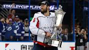NHL playoffs 2018: Alex Ovechkin defies superstition, touches Prince of Wales Trophy