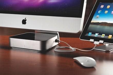 Iomega Mac Companion Hard Drive: Big storage, high-powered charging ports