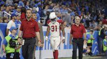 David Johnson, top fantasy pick, headed for wrist MRI