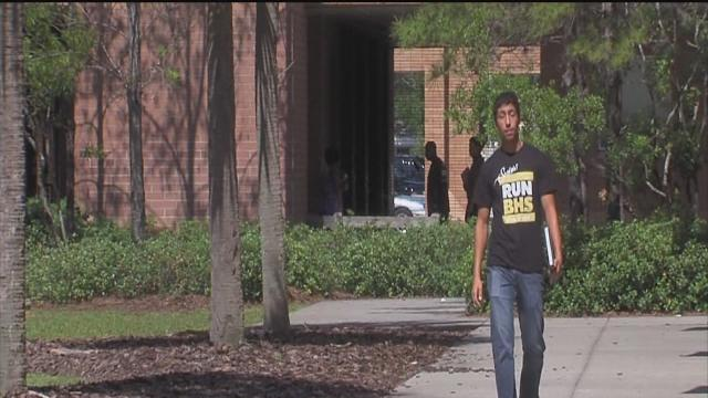 Student takes fast track to graduation