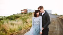 This Majestic Iceland Elopement Is Like No Beach Wedding You've Seen
