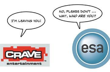 Crave leaves ESA, still showing at E3
