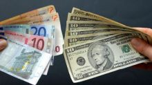 Euro finding slight support at round figure