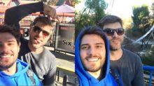 Hugo Bonemer mostra viagem com namorado em Los Angeles