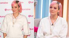 Lily Allen says she 'slept for days so she didn't need to eat' during brutally honest interview