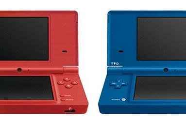 Nintendo DSi gets Matte Red and Matte Blue finishes, shrugs off sunshine glare