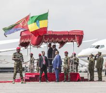 Eritrea president hails unity with Ethiopia on historic visit