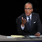The reviews are in for Lester Holt's performance during the presidential debate, and they're mostly positive