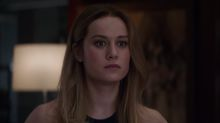 Captain Marvel vows to tackle Thanos in first 'Avengers: Endgame' clip