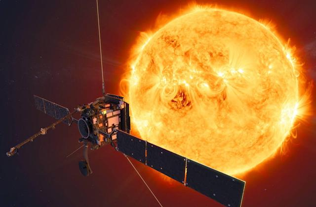 ESA-NASA's Solar Orbiter is on its way to observe the Sun's poles