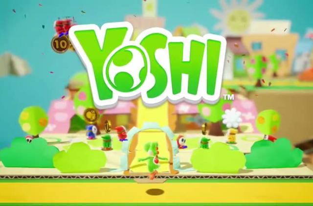 'Yoshi' on Switch is more cardboard, less yarn