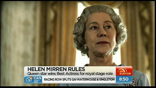 Helen Mirren wins stage award