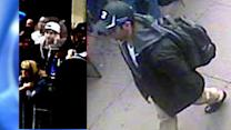 Search for two suspects spotted in surveillance photos