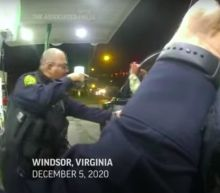Video shows Virginia cops holding a Black Army officer in uniform at gunpoint and pepper-spraying him during a traffic stop