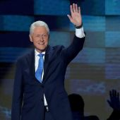 Bill Clinton Makes His Own Fashion Statement At Democratic National Convention