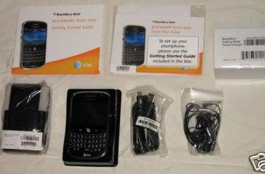 AT&T BlackBerry Bold pops up on eBay, box and all