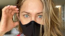 """Jennifer Aniston comparte la foto de un amigo hospitalizado para concienciar a sus fans: """"Este es el COVID. Esto es real"""""""