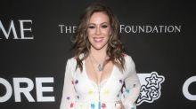 Alyssa Milano losing her hair in coronavirus battle