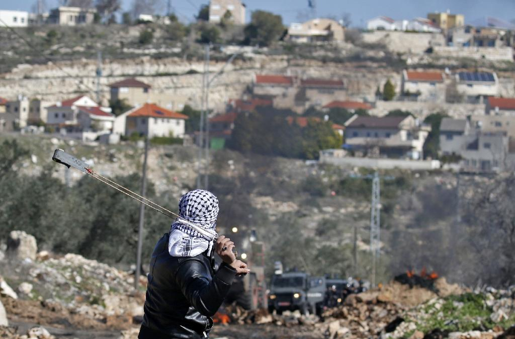 For the better part of half a century, successive US governments, both Republican and Democrat, have backed a two-state solution to the Israeli-Palestinian conflict (AFP Photo/JAAFAR ASHTIYEH)