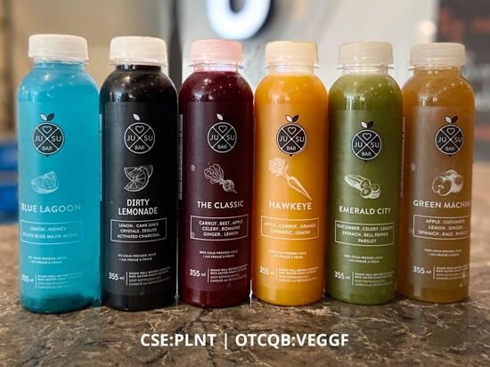 Better Plant Sciences Announces JUSU Juices Now Available for Home Delivery in Calgary