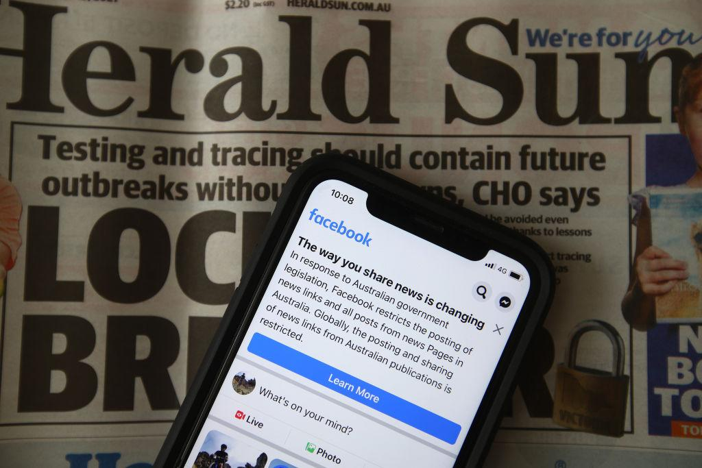 Facebook to restore news sharing in Australia after government amends proposed law