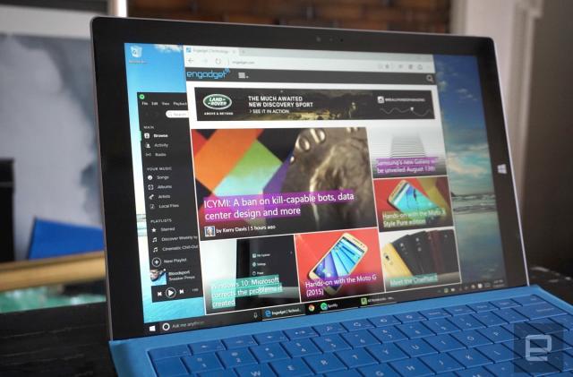 AdBlock and AdBlock Plus are available for Microsoft Edge