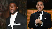 Jerry Seinfeld thinks the Academy (not Kevin Hart) loses in Oscars controversy: 'Find another Kevin Hart? That's not so easy.'