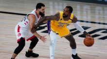 Lakers' JR Smith took fatherly advice on his way back to the NBA