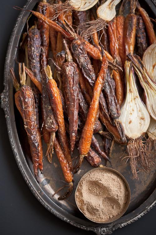 Roasted Carrots With Chaat Masala Recipe From 'Indian Simmer'