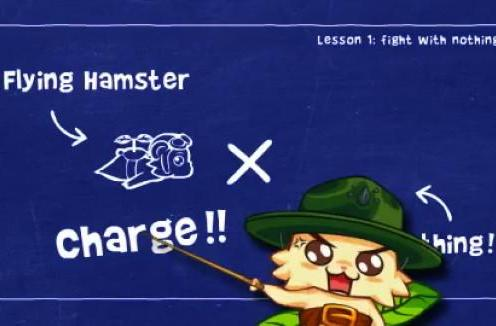 The Flying Hamster spits out some weapon tutorials