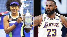 LeBron James' telling reaction to Naomi Osaka triumph