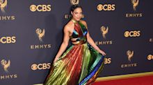 Shimmering Liquid Metallic Gowns You Need to See From the Emmys Red Carpet