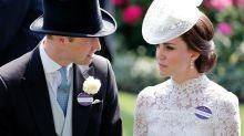 Kate Has to Wear a Name Tag at the Royal Ascot