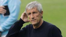 Barcelona president backs Setién, sees Xavi as future coach
