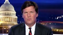 Tucker Carlson Gets Hilariously Owned By His Own On-Screen Graphics