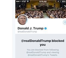 Trump Blocks Woman With Stage 4 Cancer On Twitter After Health Care Critiques