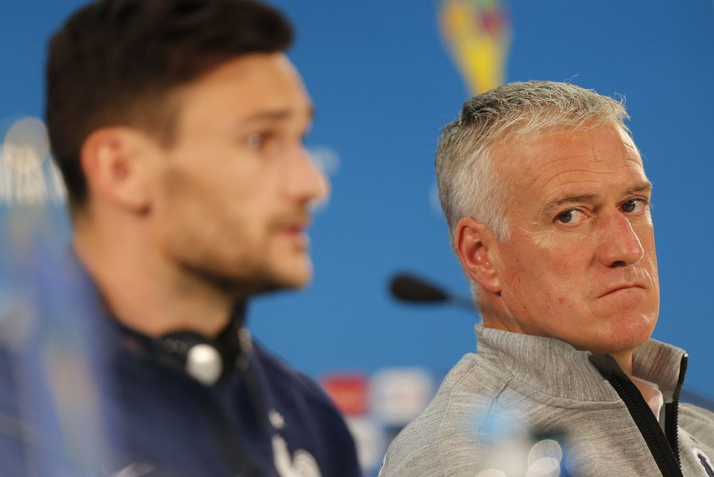 Didier Deschamps says: Suspect everyone. (AP Photo/David Vincent)