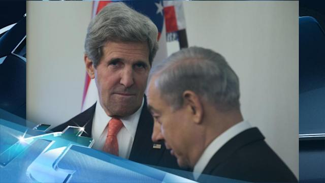 Breaking News Headlines: In Mideast, Kerry Plays Down Pessimism on Peace