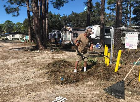 Old Florida' town known for healing springs faces recovery task