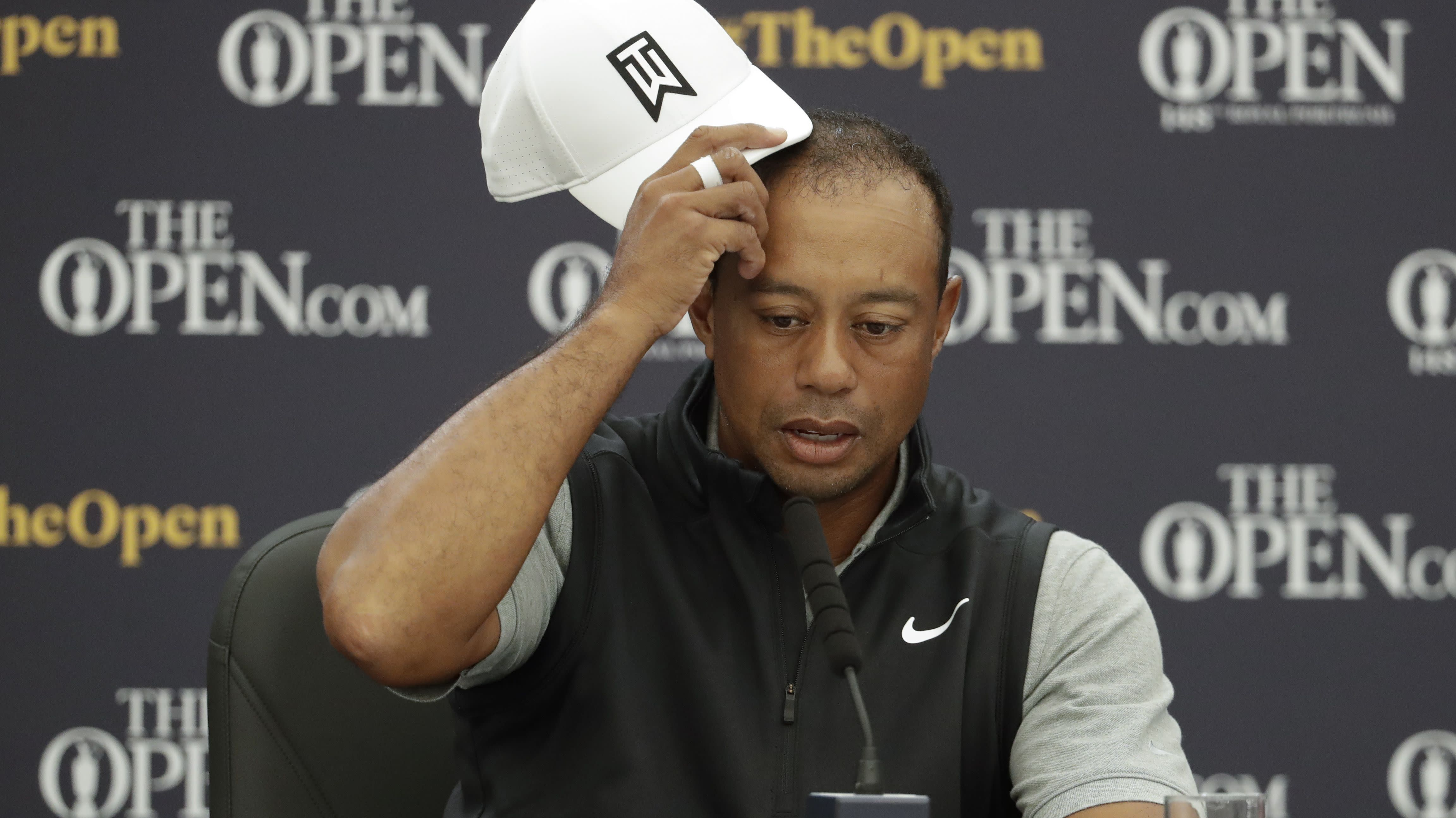 Less is best for an older Tiger Woods