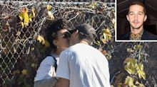 Shia LaBeouf Shares a Kiss with FKA Twigs in L.A. After Being Spotted Together in the U.K.