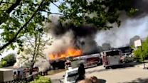 San Ramon fire destroys home, damages another